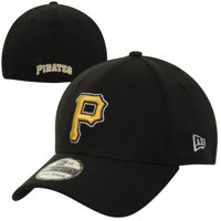13e2a3e7558038 Product Image Pittsburgh Pirates New Era MLB Team Classic Alternate  39THIRTY Flex Hat - Black