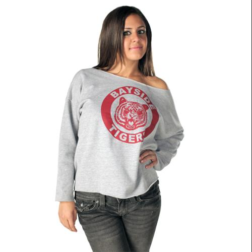 Saved By The Bell Kelly Bayside Tigers Costume Sweatshirt Adult