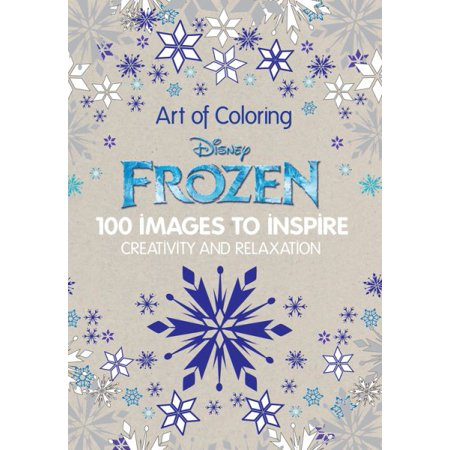 Art of Coloring Disney Frozen: 100 Images to Inspire Creativity and - Disney Halloween Coloring Sheets Printable