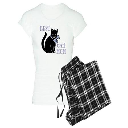 CafePress - Best Cat Mom - Women's Light Pajamas (Best Clothes To Sleep In)