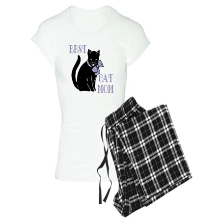 CafePress - Best Cat Mom - Women's Light Pajamas
