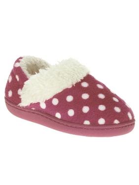 Toddler Girl's Polka Dot A-line Slipper Shoe