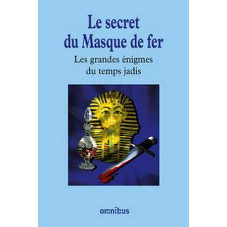 Le secret du Masque de fer - eBook (Masque D'halloween De Vampire)