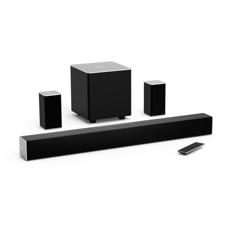 VIZIO 32u0022 5.1 Channel Soundbar System with Wireless Subwoofer and Rear Speakers - SB3251n-E0