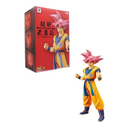 Dragon Ball Super Movie Cyokoku Buyuden Banpresto Figure - Super Saiyan God Son Goku ()