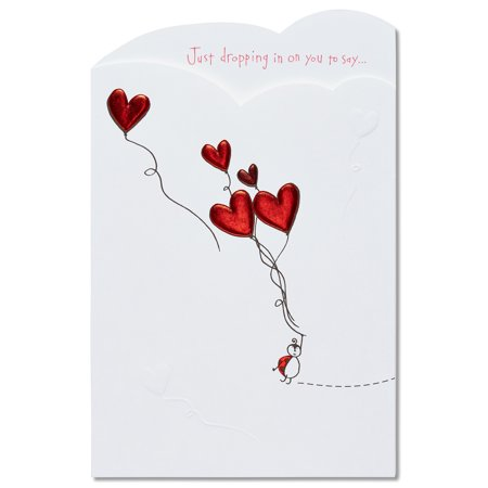 American greetings ladybug valentines day card with foil walmart american greetings ladybug valentines day card with foil m4hsunfo