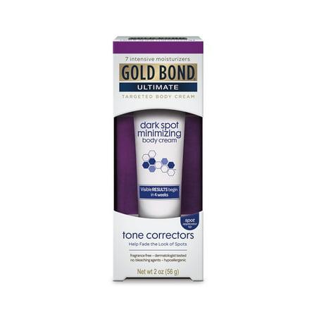 GOLD BOND® Ultimate Dark Spot Minimizing Targeted Body Cream (Cream To Remove Dark Skin Between Thighs)