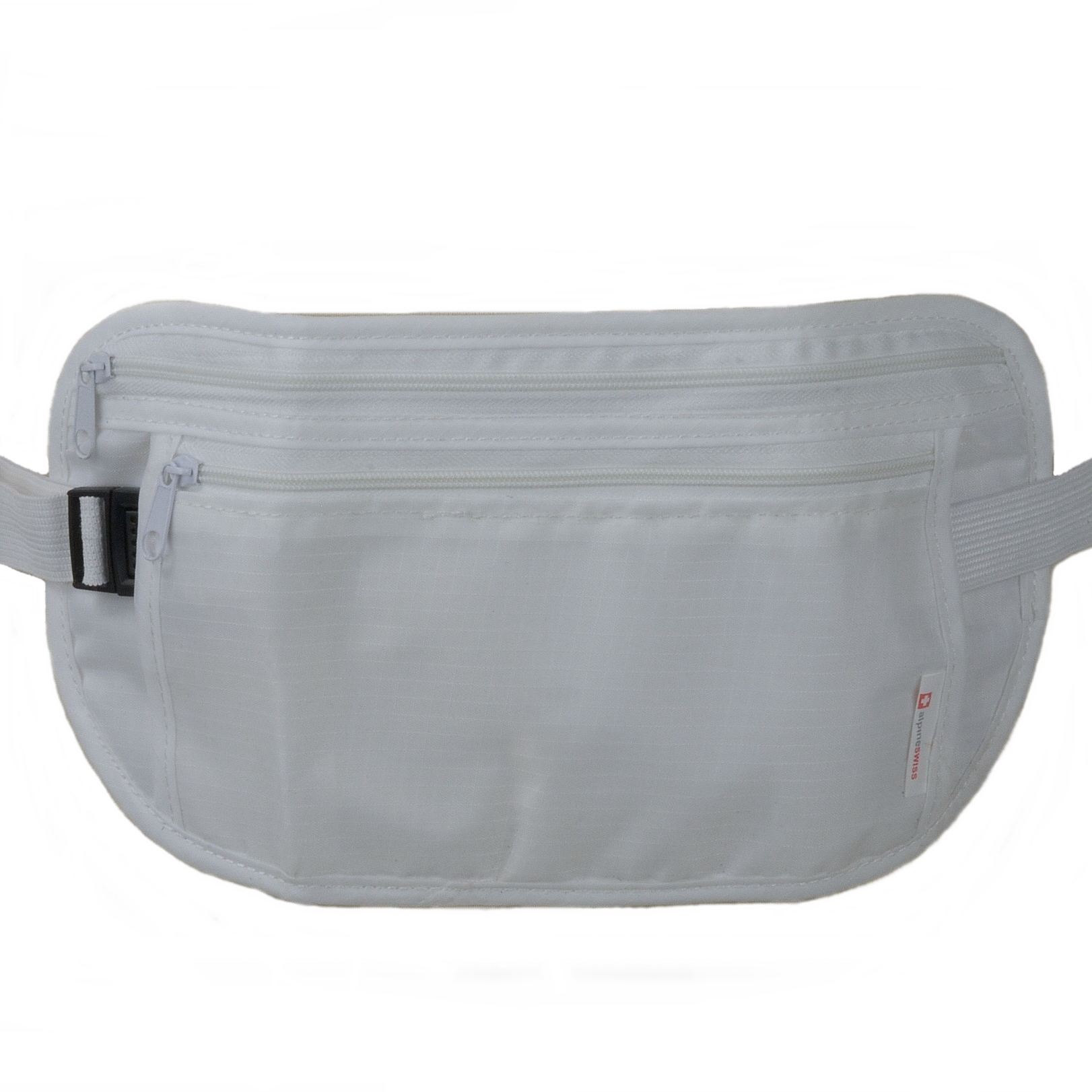 Alpine Swiss Travel Wallet Waist Belt Neck Pouch Undercover ...