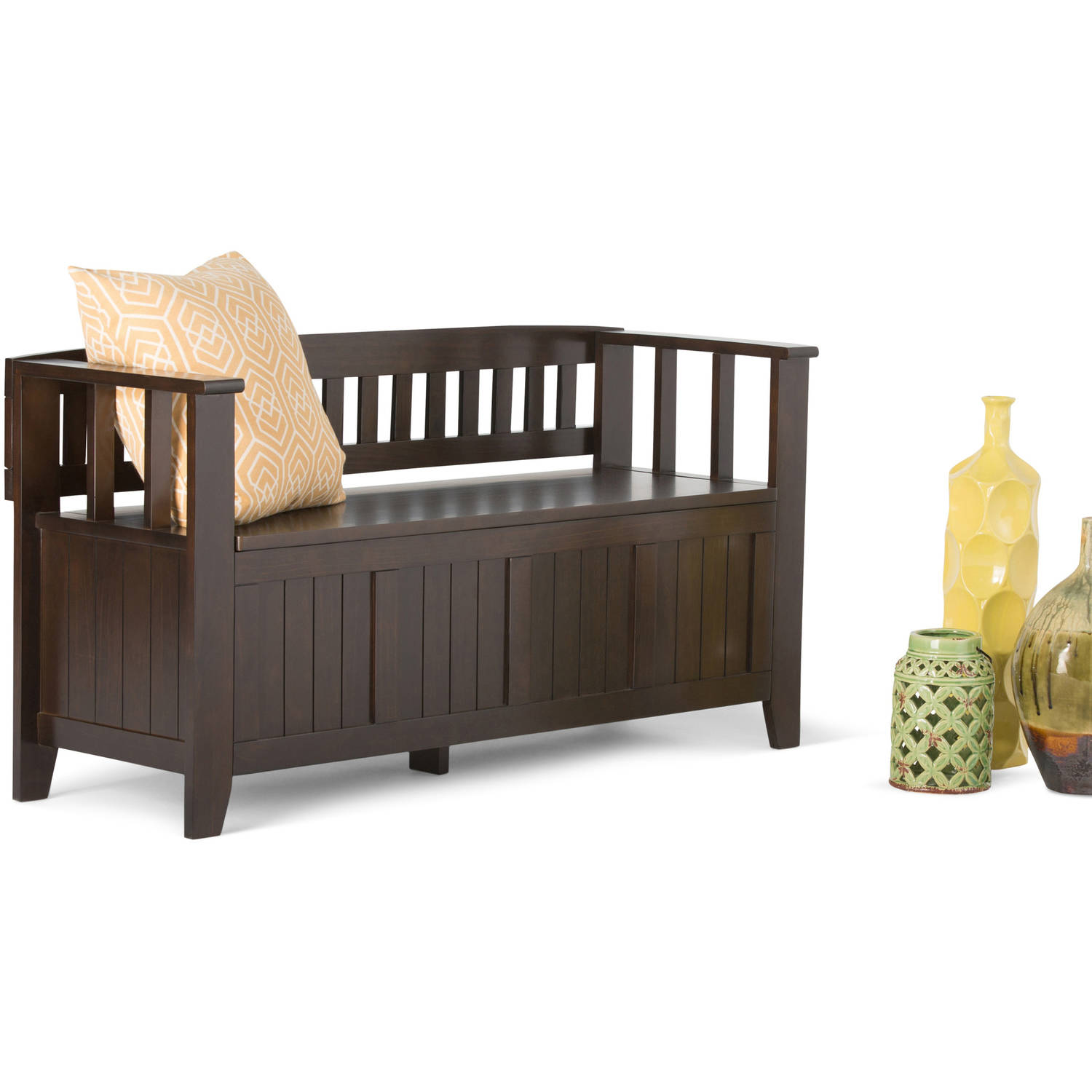 Acadian Entryway Storage Bench by CCT Global Sourcing Inc