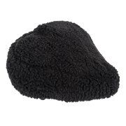 Sunlite Bicycle Fur Saddle Cover Black for Cruiser Excercise Comfort Bike Seats