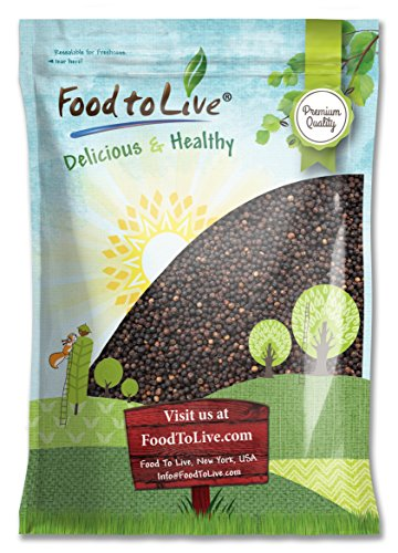 Food To Live Black Pepper Whole (Peppercorn) (8 Pounds) by Food To Live