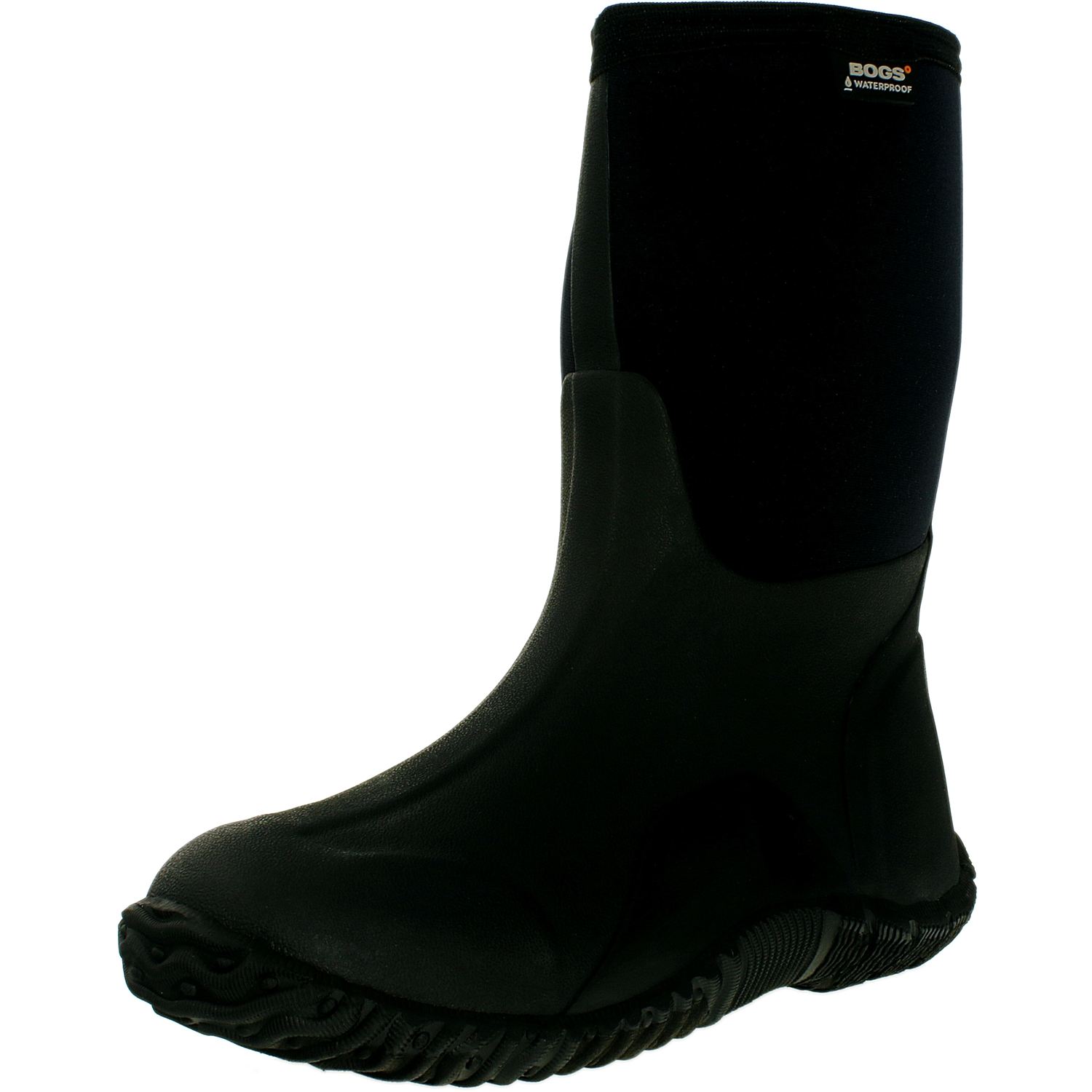Bogs Boy's Classic High Black Ankle-High Fabric Rain Boot 7M by Bogs