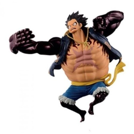 Banpresto One Piece 6 3 Inch Monkey D Luffy Figure Scultures Big Zoukeio Special Gear Fourth