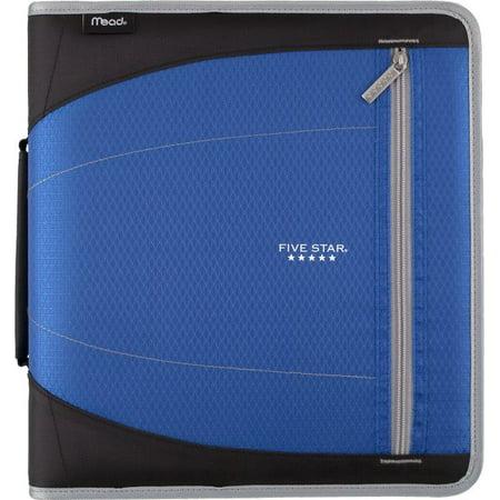 Five Star 2 inch Zipper Binder - Student Supplies 2' Zipper Binder Portfolio