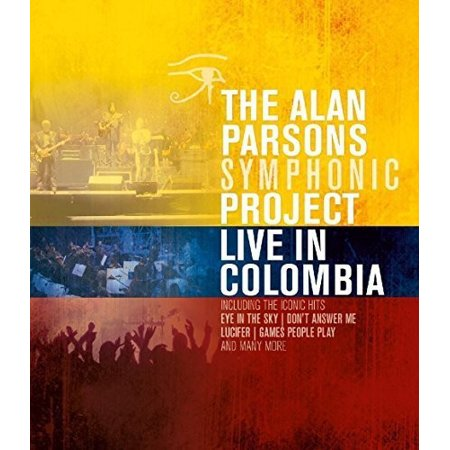 Symphonic Fragments - Live in Colombia the Alan Parsons Symphonic Project (Blu-ray)