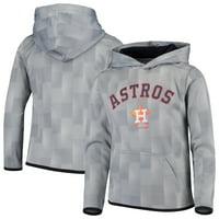 Houston Astros Youth Polyester Fleece Sweatshirt - Gray