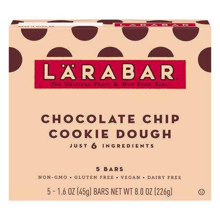 Larabar Gluten Free Bar Chocolate Chip Cookie Dough 1.6 oz (Bars Cashew Cookie Larabar)