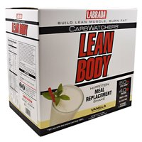 Carb Watchers Lean Body - Vanilla Ice Cream, 42-2.29 Ounce (65 g) each