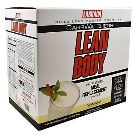 Carb Watchers Lean Body - Vanilla Ice Cream, 42-2.29 oz (65 g)