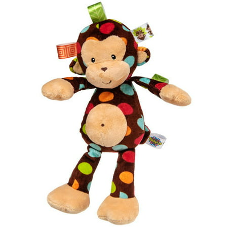 Taggies Monkey (Taggies Dazzle Dots Monkey Soft Toy)