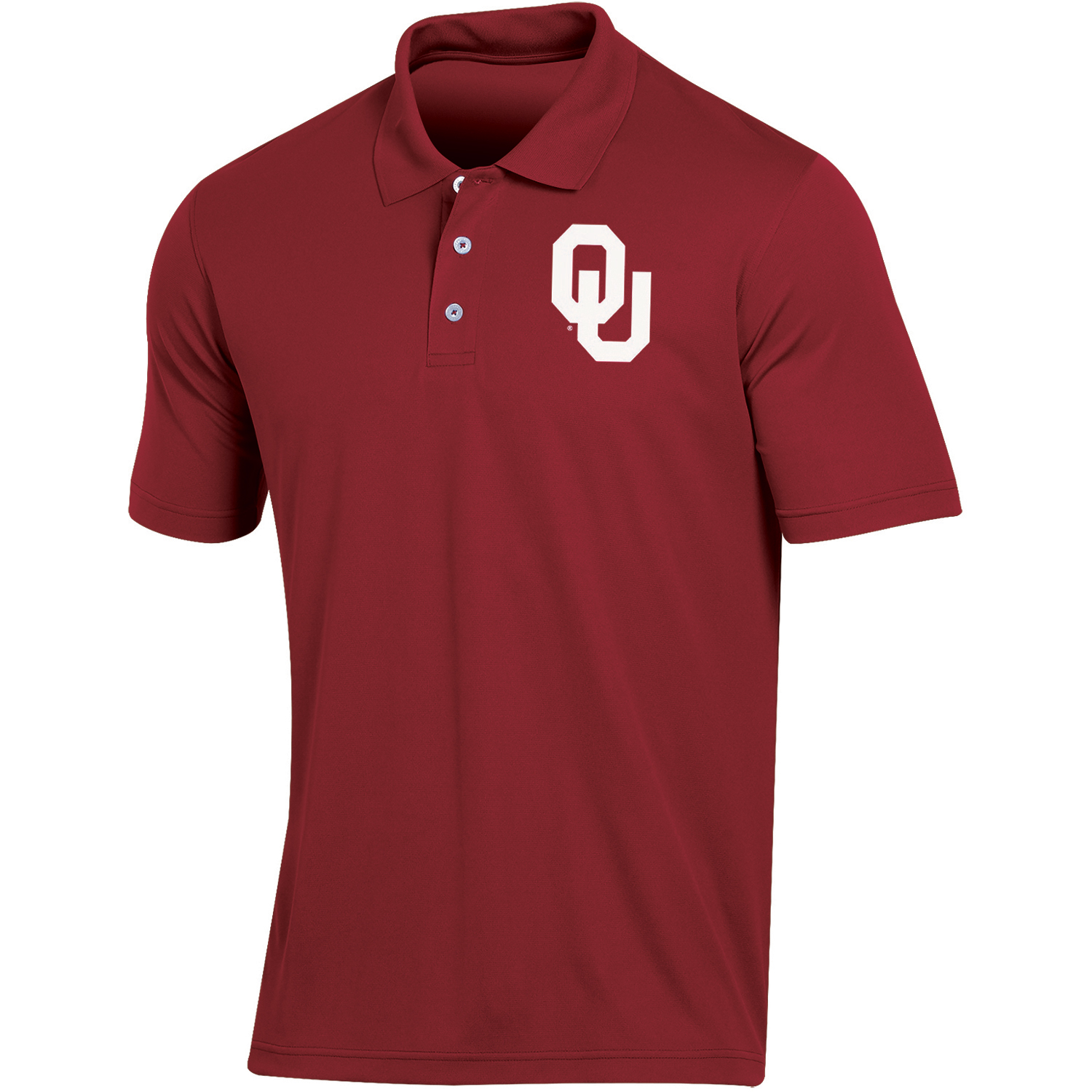 Men's Russell Crimson Oklahoma Sooners Classic Fit Synthetic Polo