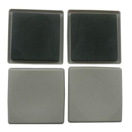 - GGS_16593 Slider, Square, Self-Stick, 5 In., PK 4