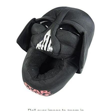 reasonably priced no sale tax incredible prices Disney - Star Wars Darth Vader Boys Plush Slippers - Walmart.com
