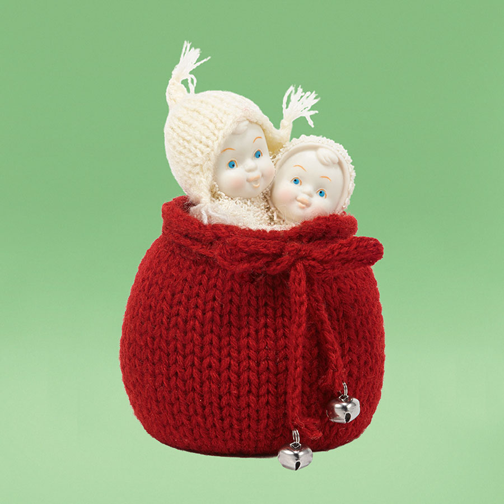 Department 56 Snowbabies 4027737 Surprise For Santa 2014