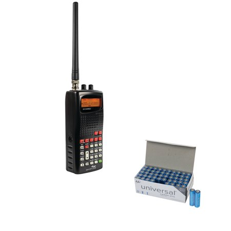 Whistler WS1010 Analog Handheld Radio Scanner 1010 & UPG AA 50 Pack ()