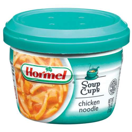 Hormel: Chicken Noodle Soup Cups, 7.50 oz