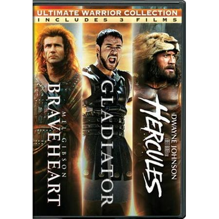 Braveheart / Gladiator / Hercules (DVD) (Movie Hercules 2017)