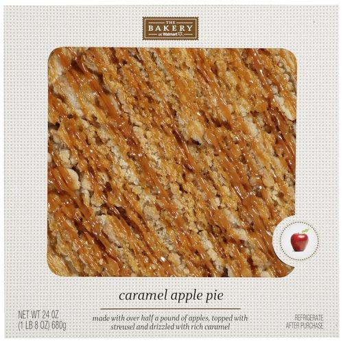 The Bakery At Walmart Caramel Apple Pie, 24 oz