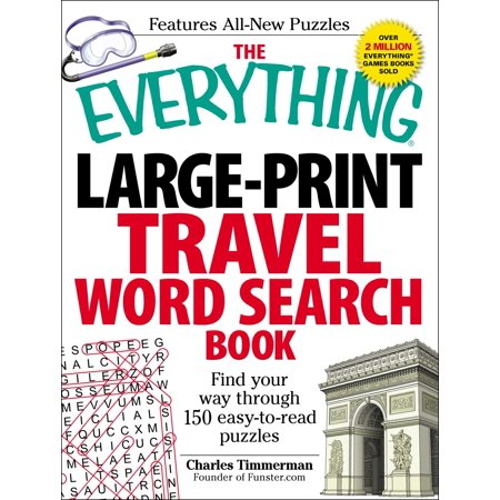 The Everything Large-Print Travel Word Search Book : Find your way through 150 easy-to-read - Find A Word Halloween