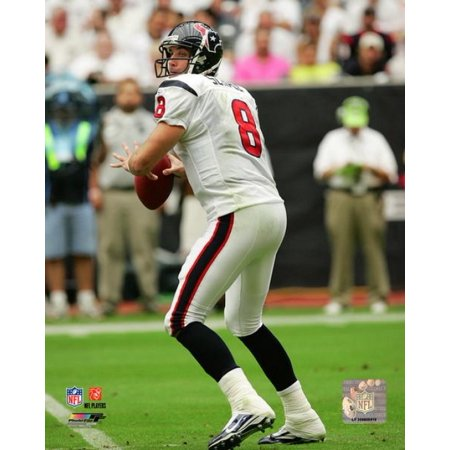 Matt Schaub 2009 Action Photo Print