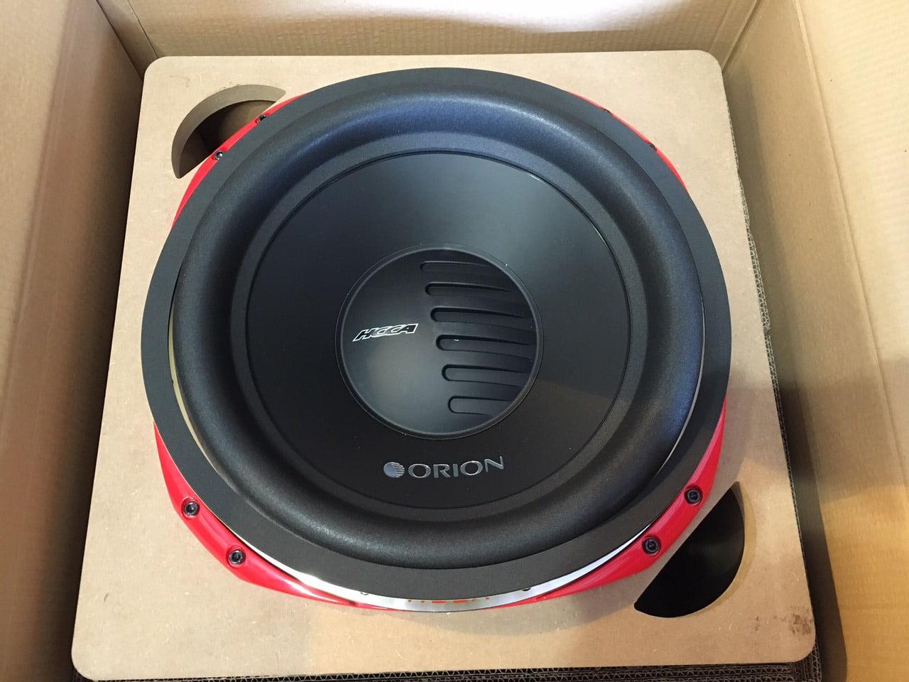 Orion HCCA152SPL 15 Inch 10,000 Watt Max Power SPL Dual 2 Ohm Competition  Subwoofer - Walmart.com
