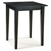 Home Styles Arts & Crafts Bistro Table, Ebony