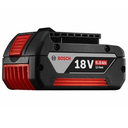 Bosch Genuine OEM Replacement 18V 6.0Ah Lithium-Ion Fat Battery # (Bosch Clpk420 181 18v 4 Tool Combo Kit)