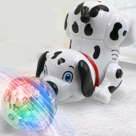 Electric Robot Dog Toys Kids Interactive Walking Puppy Sing Dance Xams Toys Gift