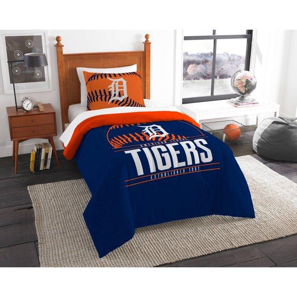 Mlb Detroit Tigers Grand Slam Bedding Comforter Set Walmart Com Walmart Com