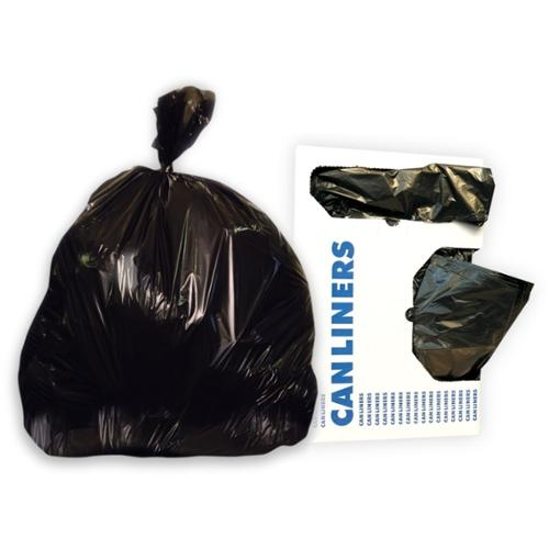 "Heritage Critical Choices Trash Bag - 16 Gal - 24"" X 32"" - 0.70 Mil [18 Micron] Thickness - 500/carton - Black (h4832hk)"