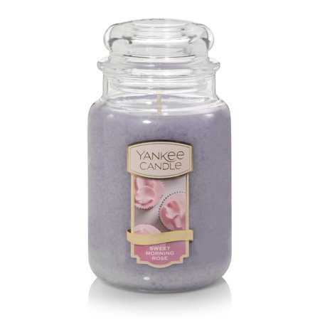Yankee Candle Sweet Morning Rose Sunday Brunch Collection - Large Classic Jar Candle