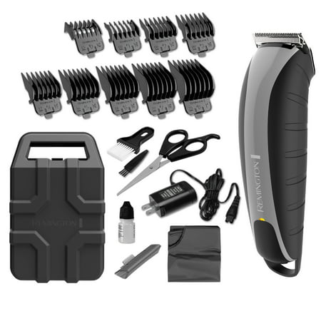 Remington Virtually Indestructible Barbershop Clipper, Lithium Rechargeable Battery, Grey,