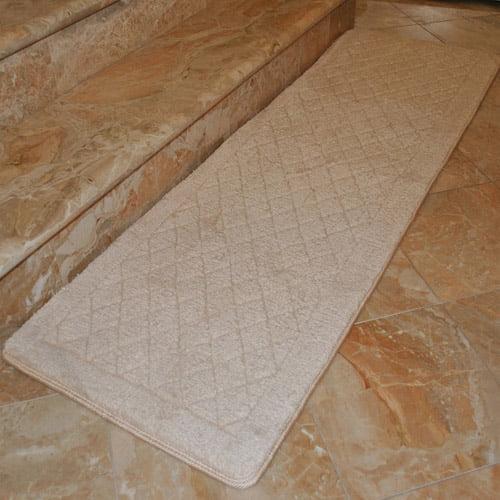 "Fashion Street Extra-Long Memory Foam Bath Rug, 1'8"" x 5'4"""