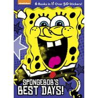 Spongebob Squarepants (Golden Books): Spongebob's Best Days! (Paperback)