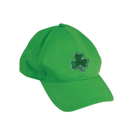 St Patricks Day Light Green Irish Shamrock Baseball Hat Cap (Baseball Hat Accessories)