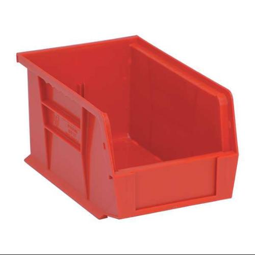 Quantum Storage Systems 50 lb Capacity, Hang and Stack Bin, Red QUS221RD