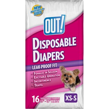 Out  Xs S Disposable Diapers  16 Ct