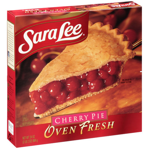 Sara Lee Oven Fresh Cherry Pie, 34 oz