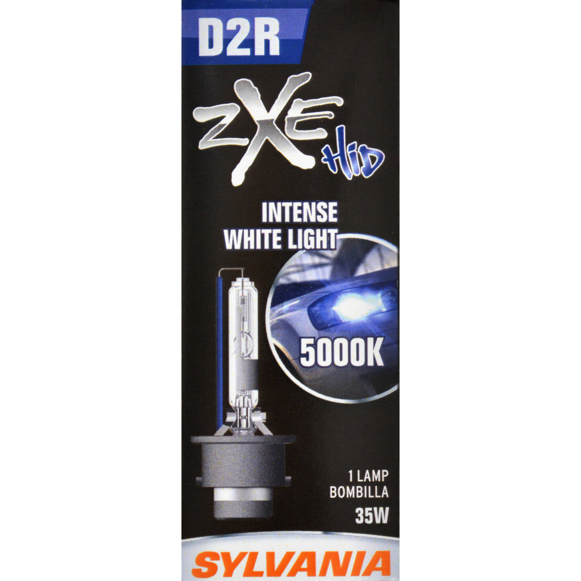 Sylvania D2R SilverStar zXe Headlight, Single Pack