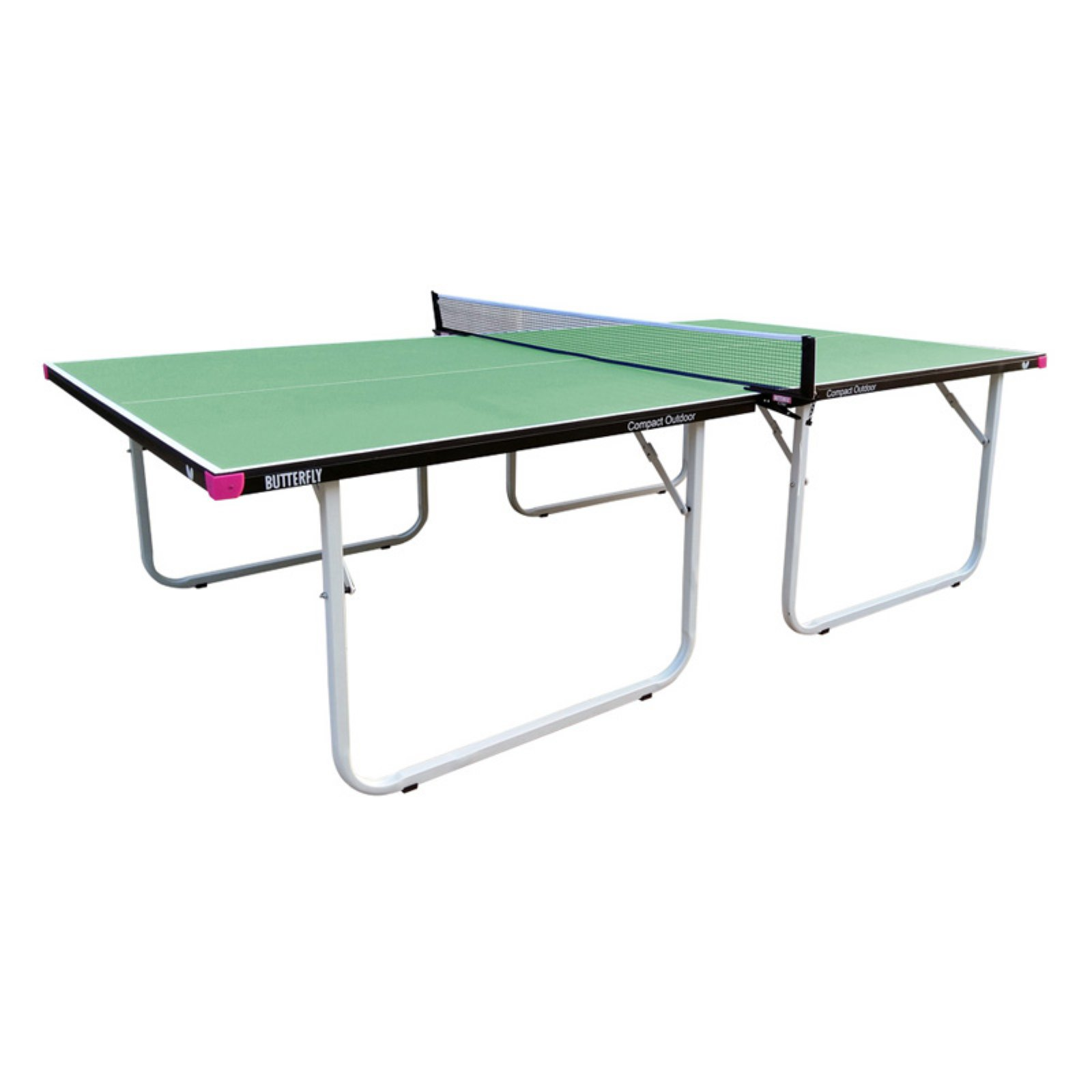 Butterfly Compact Outdoor Table Tennis Table,Green
